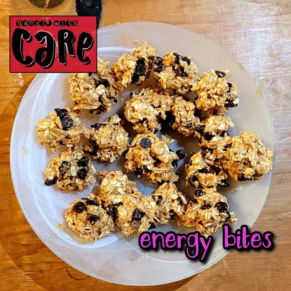 These no-bake energy balls are the perfect after work-out snack, or a quick sweet treat when you're on-the-go
